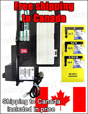 MEI – MARS VN2612 Canadian version MDB bill validator bill acceptor- See video