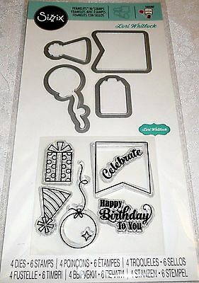 Sizzix Framelits with Stamps - HAPPY BIRTHDAY TO YOU