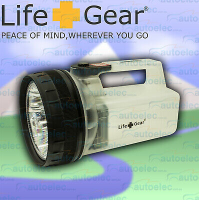 Genuine Lifegear 13 Led Emergency Floating Torch In Clear Color With Batteries M
