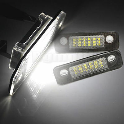 LED License Number Plate Lamp Light For Ford Mondeo Fiesta MK6 Fusion Error Free
