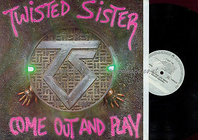 Lp--Twisted Sister Come Out And Play // 781 275-1 ///no Gimmick Cover///