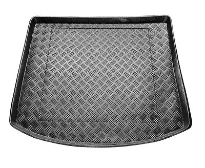 TAILORED PVC BOOT LINER MAT TRAY Vw Touran 2003-2015 version with frame