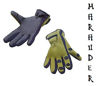 Neoprene Gloves with fold back fingers ideal for fishing, hunting or shooting #