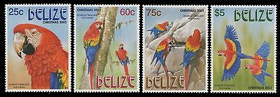 Belize 2003 - Mi-Nr. 1275-1278 ** - MNH - Vögel / Birds