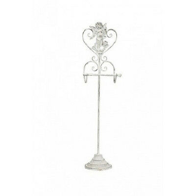 Shabby Chic Toilet Roll Holder Stand French Vintage Free