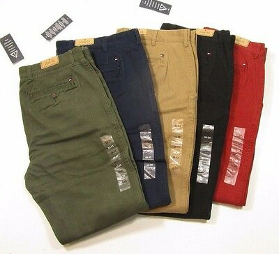 48ab34f63 TOMMY HILFIGER MEN'S Brushed Cotton Slim Fit Chino Pants - $13.50 ...