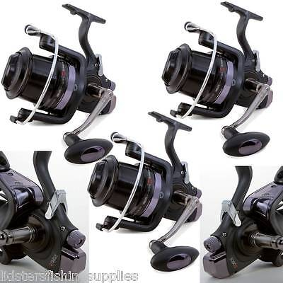 3 x Global Runner 6+1BB Big Pit Large Carp Fishing Reels B-Drag System 5080S New