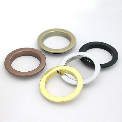 """Drapery plastic Grommets - 1-5/8"""" anti brass No tools requried for installation"""