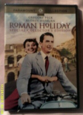 DVD ROMAN HOLIDAY Special Collector's Edition Gregory Peck Audrey Hepburn NEW