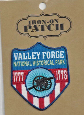 Valley Forge National Historical Pennsylvania Souvenir Patch