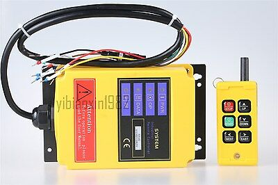 F21-4S Single Emitter Industry Wireless Crane Remote Control AC110V for Elevator