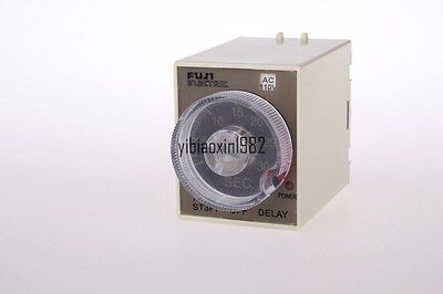 220V AC Power Off Delay Timer Time Relay 0-30 Second 30S ST3PF & Base Socket