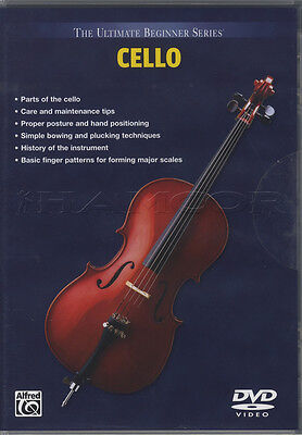 Cello Learn How to Play Tuition DVD The Ultimate Beginner Series
