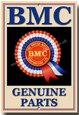 British Motor Corporation Genuine Parts Metal Sign.vintage British Cars