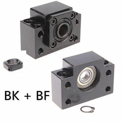 Ball Screw End Support BK+BF10 / BK+BF12 / BK+BF15 / BK+BF17 / BK+BF20 / BK+BF25
