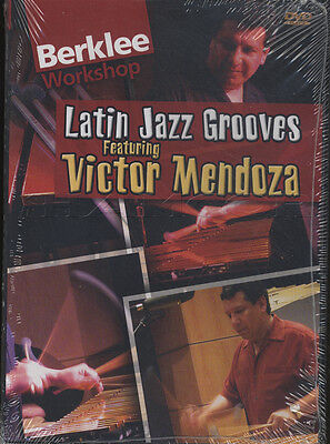 Latin Jazz Grooves Vibraphone & Percussion Drum DVD by Victor Mendoza