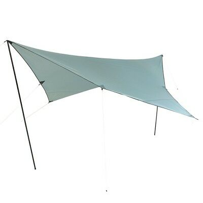 10T Arona Tarp 3x3 UV-50+ - Sun awning, 300x300 cm with erection poles and pegs,