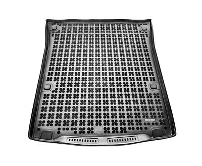 TAILORED RUBBER BOOT LINER MAT TRAY Vw Caddy Maxi since 2007 5-seats