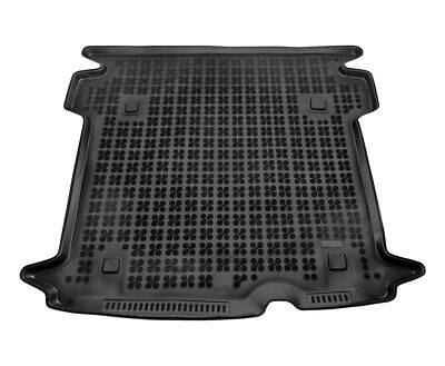 TAILORED RUBBER BOOT LINER MAT TRAY Fiat Doblo II Maxi since 2010 5-seats