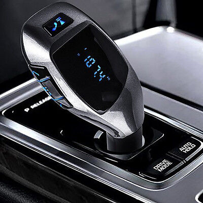 NEW X5 Car Cigarette Lighter BLUETOOTH Calling FM Radio Transmitter AUX USB Port