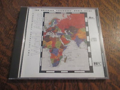 pc cd-rom world atlas version 5 for IBM PC & compatibles
