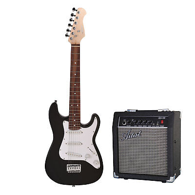 Artist MiniS Pack 3/4 Size Small Body Electric Guitar + Amp - New