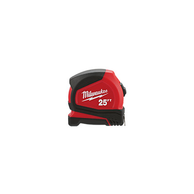 New Milwaukee 48-22-5525 25 Foot Heavy Duty Clip Tape Measure Tool Sale