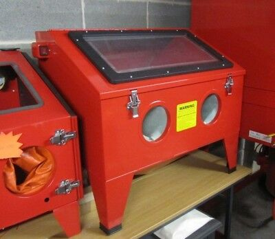 Bench Top Sand Blast Cabinet. SBC190 Grit Blast Cabinet for glass etching, parts