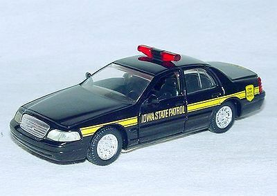 V-LIGHTBAR Road Champs 1:43 Scale FORD CROWN VICTORIA NASSAU COUNTY NY POLICE