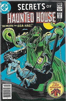 Secrets Of The Haunted House #36 (Vg/fn) Bronze Age Dc Horror