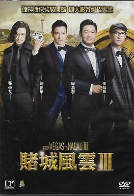 From Vegas to Macau 3 DVD Chow Yun Fat Andy Lau Nick Jacky Cheung NEW Eng Sub R3