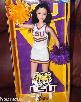 Mattel 2011 Barbie Collector Louisiana State University Doll Pink Label