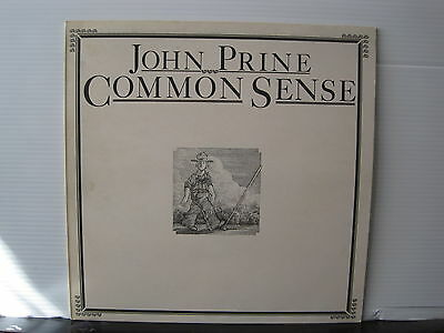 JOHN PRINE Common Sense 1975 ATLANTIC RECORDS VINYL LP Free UK Post