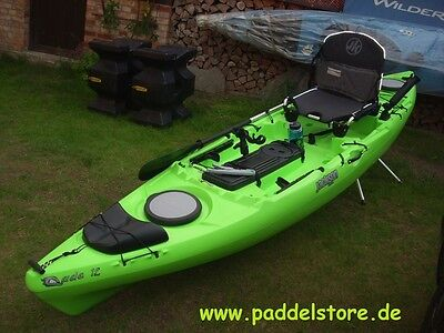 Cuda 12 Jackson Kayak lime Angler Kajak Sit on Top Angelkajak Angler SOT USA