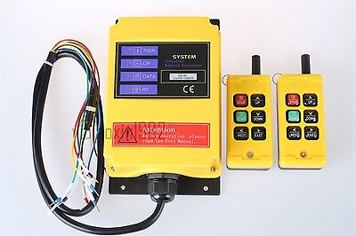 F21-4S Double Emitters Industry Wireless crane Remote Control 415V for Elevator