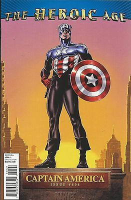 Marvel Captain America comic issue 606 Limited variant