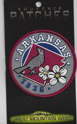 Souvenir Patch State Of Arkansas
