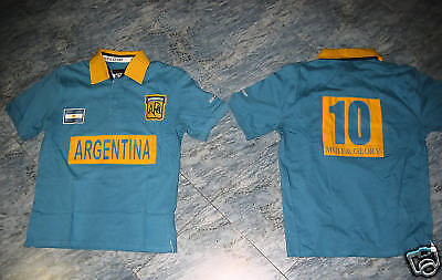 Mud & Glory Polo Rugby Argentina Cotone  Tg M