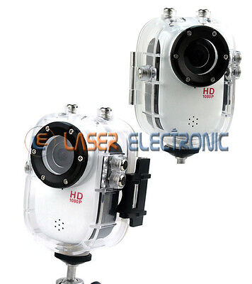 Telecamera Videocamera Action Full HD 1080p 30fps 12mp Subacquea stile GoPro