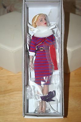 """Tonner Stripes Suit Me! Kitty Collier Dressed Doll & Accessories 10"""" Tall New!"""