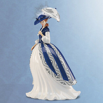 Felicia Figurine -  Blue Willow Collection Elegant Lady