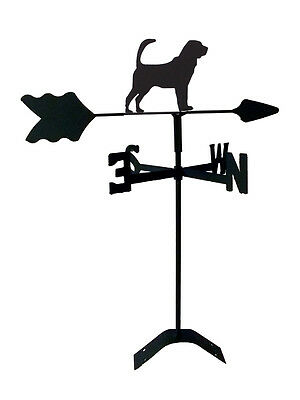 bloodhound roof weathervane black wrought iron look made in usa tls1063rm
