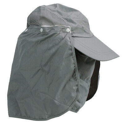 """360° """"COLOR"""" Outdoor Jungle Hat Shawl Fly UV SUN PROTECTION Flap Face Neck Cap"""