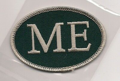 Souvenir Patch - State Of Maine - Euro Style