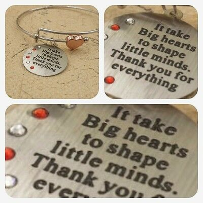 Unusual Teacher Gift thank you End of Term school Leaving Present womens her