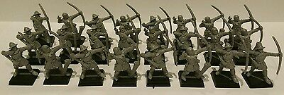 Empire Army 24 x Bowmen unpainted models Age of Sigmar AOS OOP