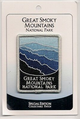 Great Smoky National Park Souvenir Patch - Special Edition Traveler Series