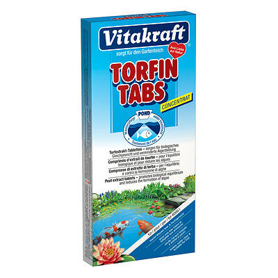 Vitakraft Pond Torfin Tabs - Tablets Against algenbildung in Garden Pond Pond