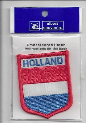 Souvenir Flag  Patch - Country Of Holland