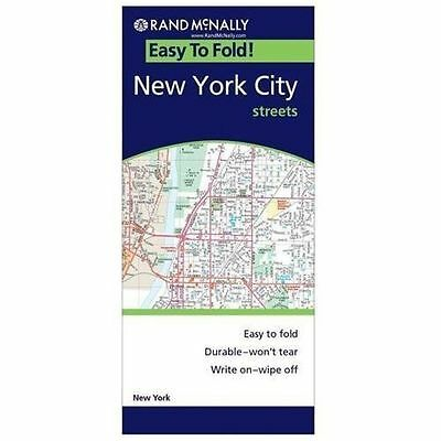 NEW - Easy Finder Map New York City (Easyfinder Maps) by Rand McNally
